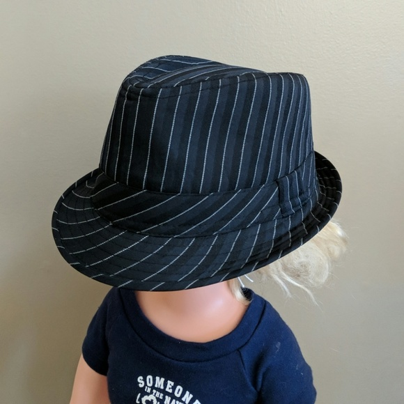 71e989d79 Infant Pinstripe Fedora Hat EUC